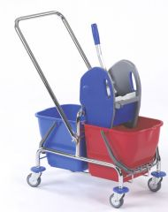 deichsel doppelfahrwagen floorstar reinigung putzwagen reinigungsgeraete reinigungsbedarf. Black Bedroom Furniture Sets. Home Design Ideas